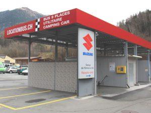 Station de lavage, Garage de l'Entremont SA Sembrancher Valais